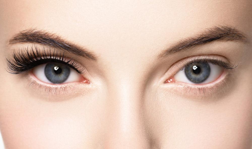 Wimperntusche Augen